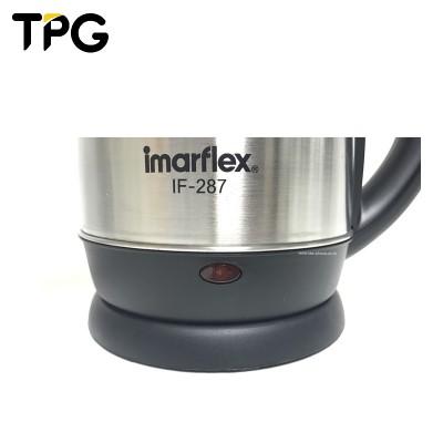 IMARFLEX กาต้มน้ำไฟฟ้า ความจุ 1 ลิตร รุ่น IF-287 [ประกันศูนย์บริการ อิมาร์เฟล็กซ์ 1 ปี]