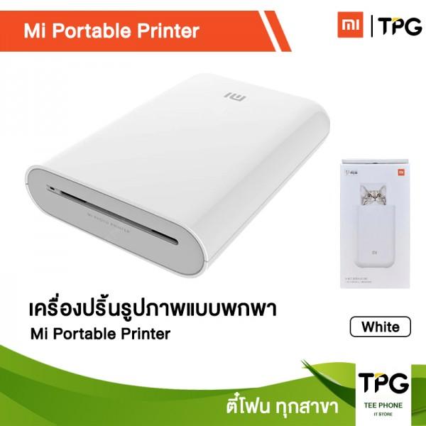 XIAOMI Mi Portable Printer เครื่องปริ้น แบบพกพา [รับประกันศูนย์ SIS]