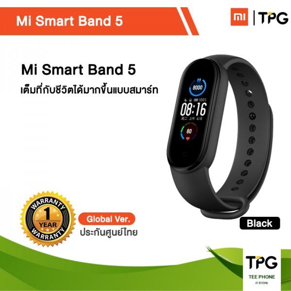 Xiaomi Smart Band 5 นาฬิกาข้อมูลอัจฉริยะ Global Version