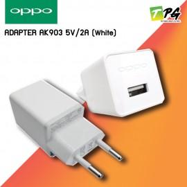 OPPO ADAPTER AK 903 5V 2A (White)