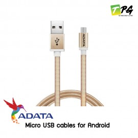ADATA Micro USB cables for Android ทุกรุ่น **สายถัก** 100cm.