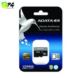 ADATA Premier Micro SDHC Class 10 (64GB) UHS-I Read/Write 50/10 MB/s
