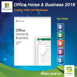 Microsoft Office Home and Business 2019 ( T5D-03249) English APAC EM Medialess (FPP)